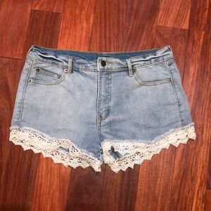 Ellison denim shorts